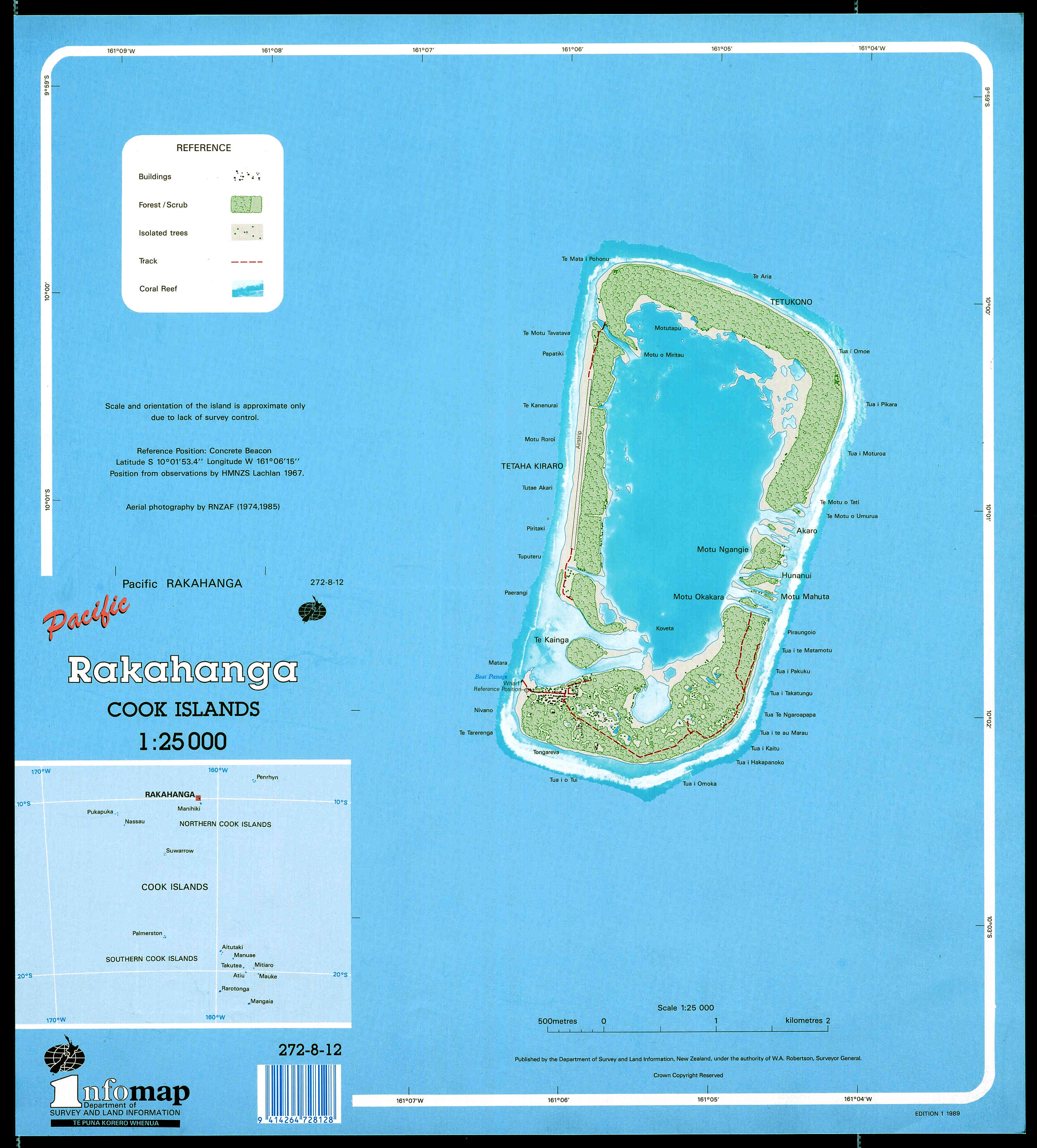 Maps Of The Cook Islands Cartes Des Iles Cook - How to hang a large map